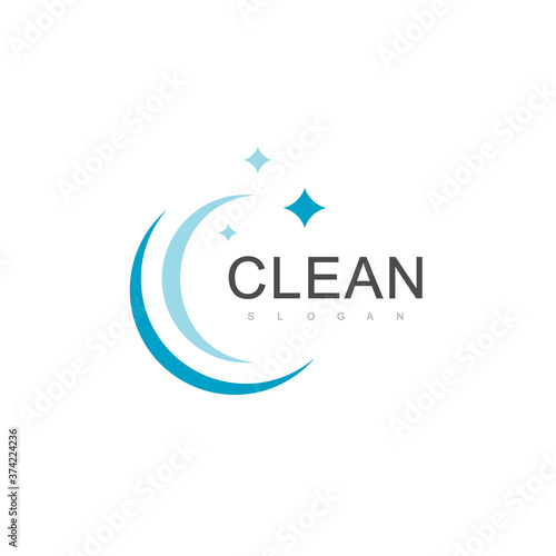Obraz Clean Logo Design Template - fototapety do salonu