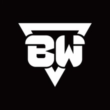 BW Logo Monogram With Triangle...