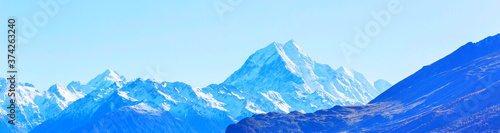 Fotografia New Zealand mountains