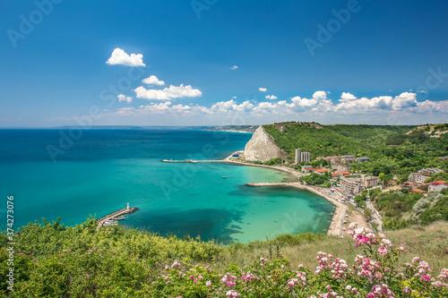 Amazing view from Kavarna, Bulgaria Fotobehang