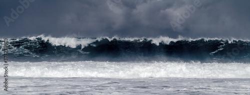 Fotografía Vague de tempête