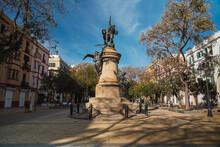Sculpture In Ibiza Town Square