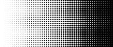 Halftone Vector. Monochrome Ab...