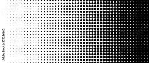 Halftone vector Canvas