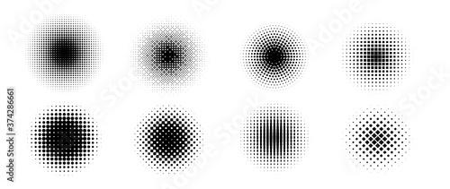 Foto Halftone vector