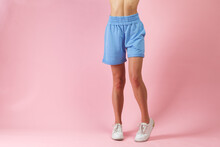 Beautiful Long Woman Legs In S...
