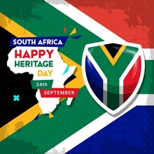 Happy South Africa Heritage Da...