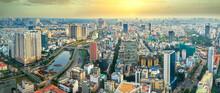 High View Saigon Skyline When...