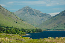Wast Water And Mountains In Th...