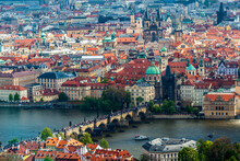 View Of The City Of Prague