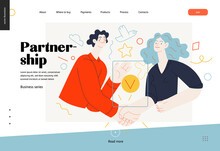 Business Topics -partnership, ...