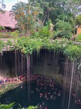 Mexico Cenote Swimming