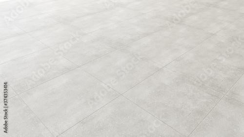 Foto Pavimento in piastrelle gres porcellanato grigio chiaro