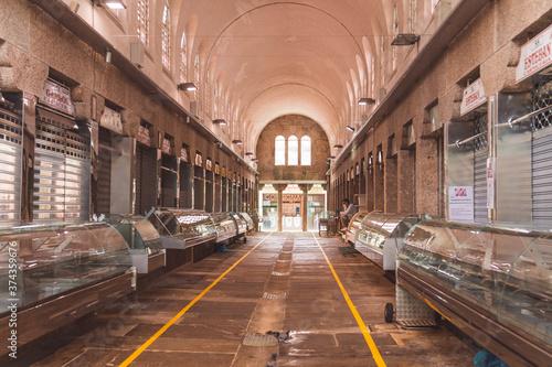 Fototapeta Mercado vacío