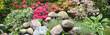 Leinwanddruck Bild Garten 1045