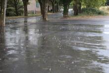 Pluie Dans La Rue