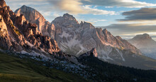 Alba A Passo Giau, Dolomiti