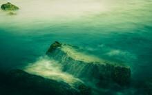 Soft Zen-like Seascape Of Roll...