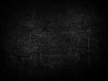 Dark Grunge Style Scratched Su...