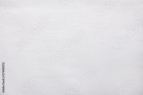 Obraz na plátne White cotton fabric cloth texture for background, natural textile pattern