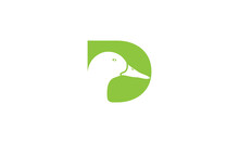 Letter D Or Initial D For Duck Bird Head Logo Design Icon
