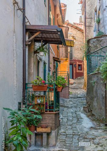 Scenic sight in Rocca di Papa, small town in the Province of Rome. Lazio, Italy. © e55evu