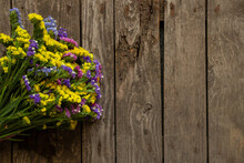 Bouquet Of Dried Flowers Stati...