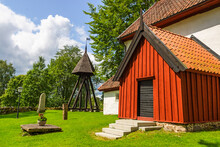 Swedish Church With A Wooden B...