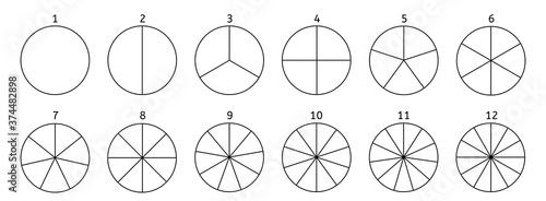 Photo Divide circle diagram