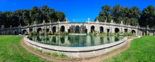 Wide Panoramic View Of The Fou...