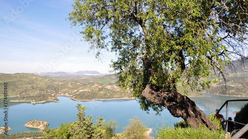 Zahara de la Sierra, Pueblos Blancos Tapéta, Fotótapéta