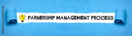 Foto Partnership Management Process
