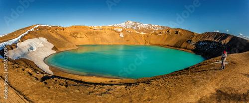 Stampa su Tela Beautiful Colorful Wild Nature landscape