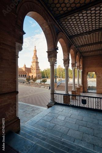 Fotografiet Seville Plaza de Espana