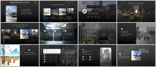 Vector templates for website design, presentations, portfolio Slika na platnu