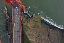 Golden Gate Bridge Ariel View