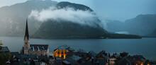 Lake Panorama View Of The Famo...