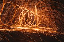 Sparkler On Fire