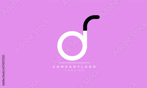 Photo Alphabet letters Initials Monogram logo  dr,rd,d and r