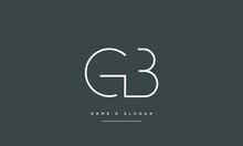GB ,BG ,G ,B  Abstract Letters Logo Monogram