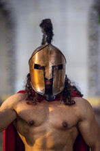 Portrait Of A Roman Soldier Wi...