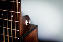 Close Up Of 12 String Guitar N...
