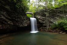 Little Stony Falls In Southwestern Virginia