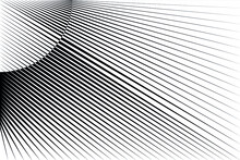 Abstract Halftone Lines Backgr...
