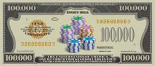 Fictional Paper Money In Denom...