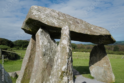 Tablou Canvas Pentre Ifan, neolithic burial chamber in North Pembrokeshire
