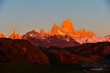 canvas print picture - Fitz Roy