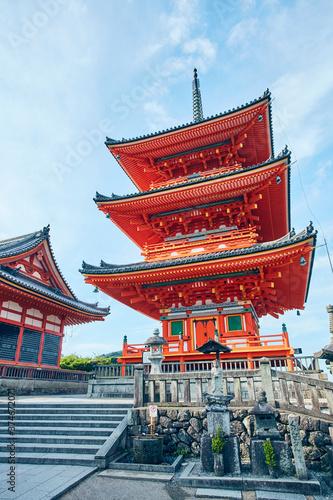 Obraz na plátně Kiyomizu-temple