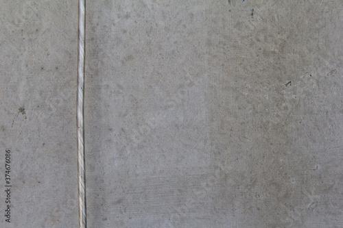 Betonwand mit Blitzableiter Canvas Print