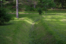 Drainage Ditch Aeration With Lawn Green Altorki.